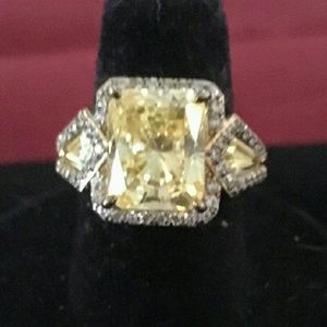 ISO Jean Dousset absolute canary ring